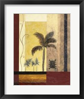 Exotic Palm I Framed Print