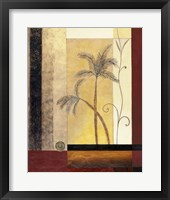 Exotic Palm II Framed Print