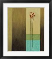Aqua I Framed Print