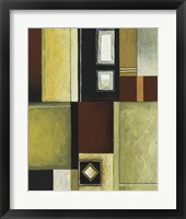 Circle and Squares IV Framed Print