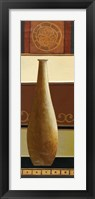 Single Vase II Framed Print