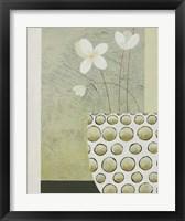 Pebble Pot I Framed Print