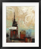 Tower In The City I Framed Print