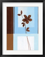 Brown Flower I Framed Print