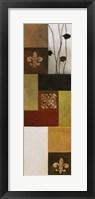 Fleur de Lis III Framed Print