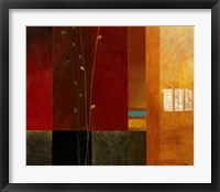 Blue Line II Framed Print