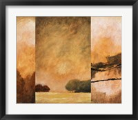 Country Abstract II Framed Print