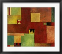 Geometric II Framed Print