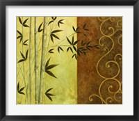 Bamboo Elegance I Framed Print