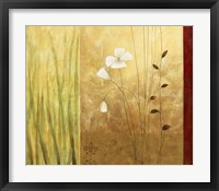 Grass Abstract II Framed Print