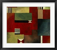 Geometric I Framed Print