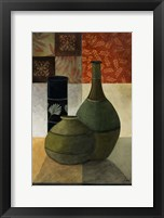 Earthenware Pots IV Framed Print