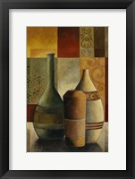 Earthenware Pots I Framed Print