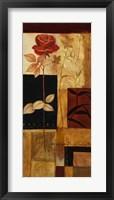 Red Rose I Framed Print