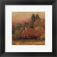 Framed Tuscan View I