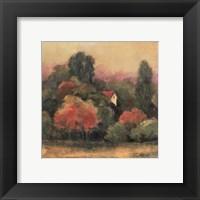 Tuscan View II Framed Print