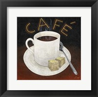 Cafe I Framed Print