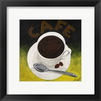 Cafe II Framed Print