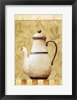 Coffee Pot II Framed Print