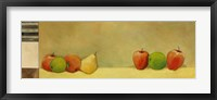 Apples and Pears I Framed Print