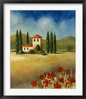 Cypress II Framed Print