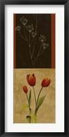 Botanical Panel I Framed Print