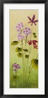 Wild Flowers I Framed Print