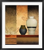 Pair of Vases I Framed Print