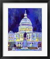 Framed Washington D C