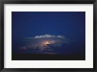 Framed Thunder Boomer & Stars Over Wyoming