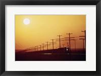 Framed California Railroad