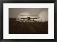 Framed Crop Duster I