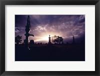 Framed Grafton Cemetery