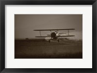 Crop Duster II Framed Print