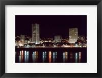 Framed Downtown Portland