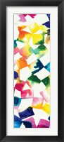 Colorful Cubes III Framed Print