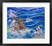 Framed Noah's Triumph