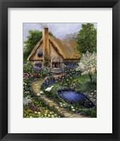 Framed Best Old Cottage