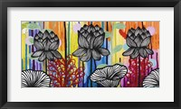 Framed Colorful Lotus