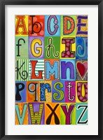 Framed ABC