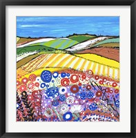 Framed Wheatfields In Scotland