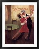 Framed Del Tango