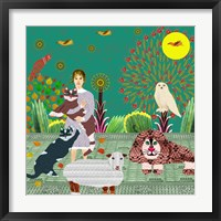 Peaceable Kingdom Framed Print