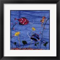 Framed Tropical Fish 2