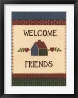American Home IV Framed Print