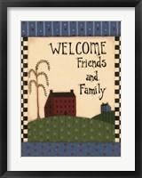 American Home V Framed Print