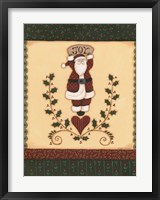 Christmas Quilts II Framed Print