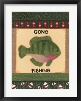 Fishing I Framed Print