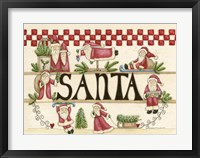 Framed Believe In Santa