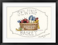 Framed Sewing Basket